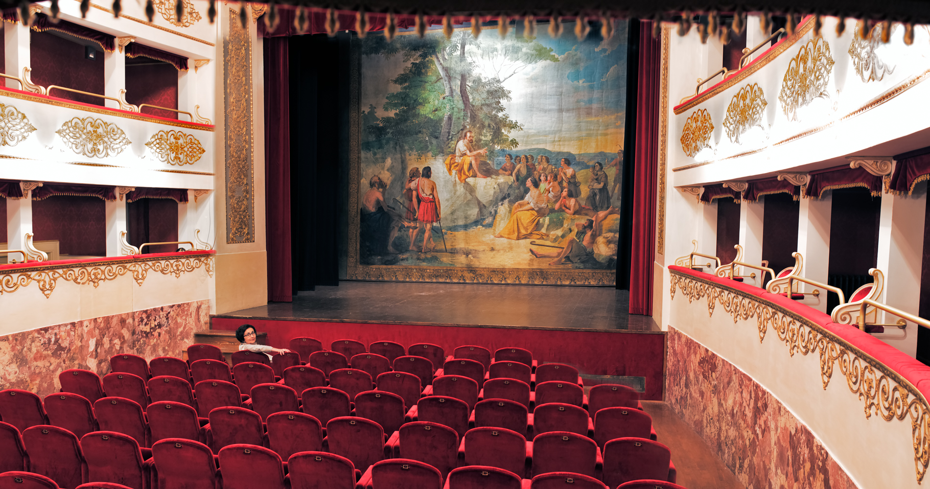 Alice Zeppilli Civic Theatre in Pieve di Cento (BO)