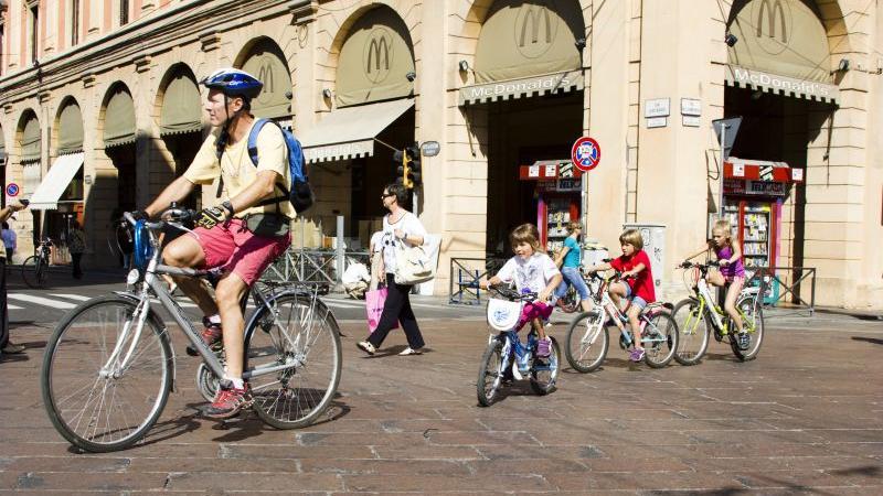 Cicloturismo, mountain-bike