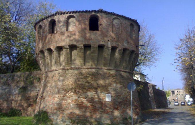 Mura di Castel Guelfo, Archivio Imola Faenza, CC BY NC ND 4.0