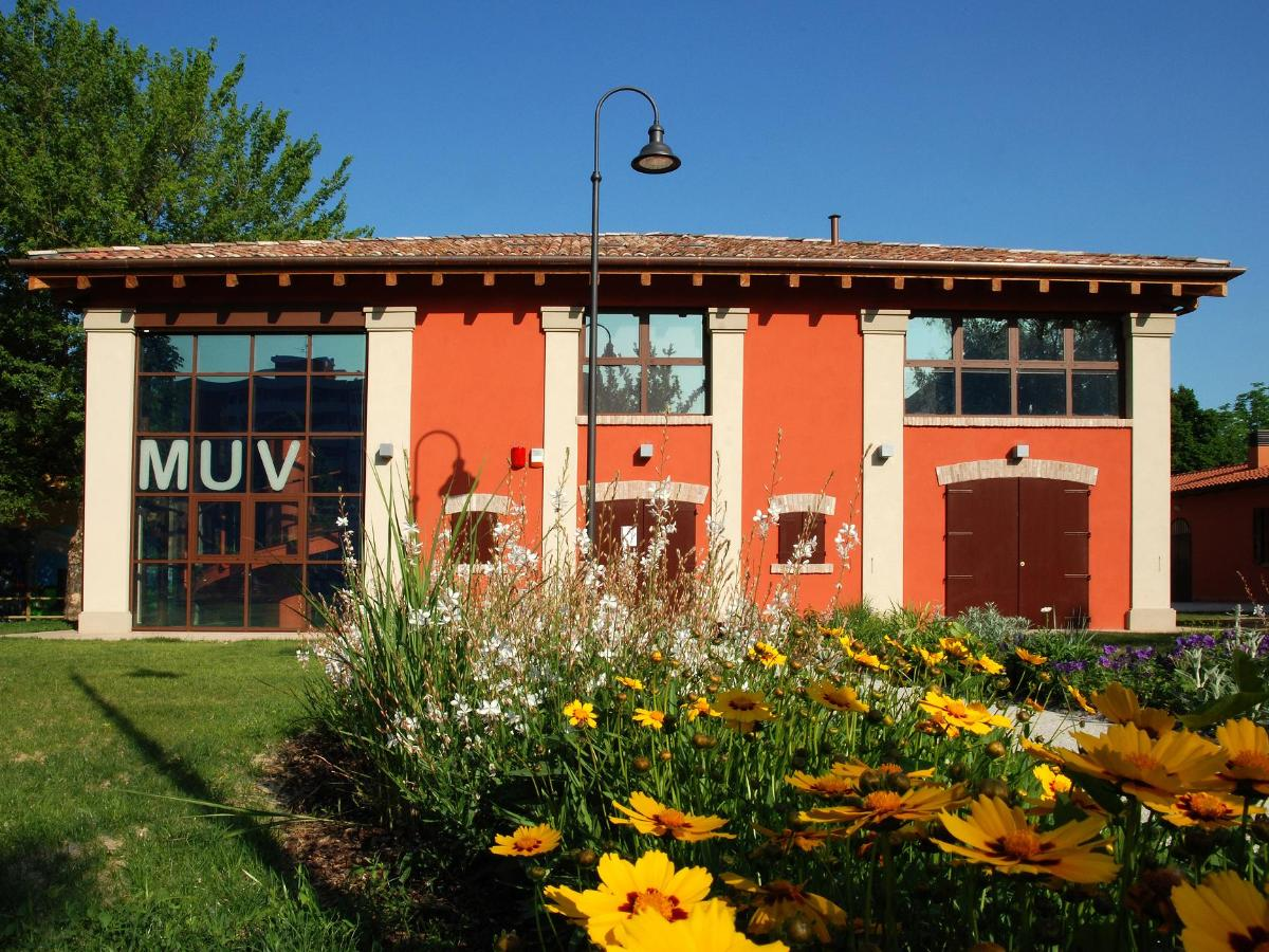 The exterior of the MUV - Museum of Villanovan Civilization