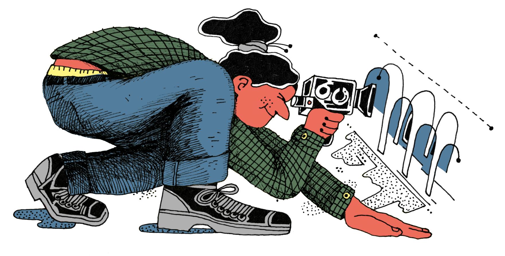 Ragazza videomaker