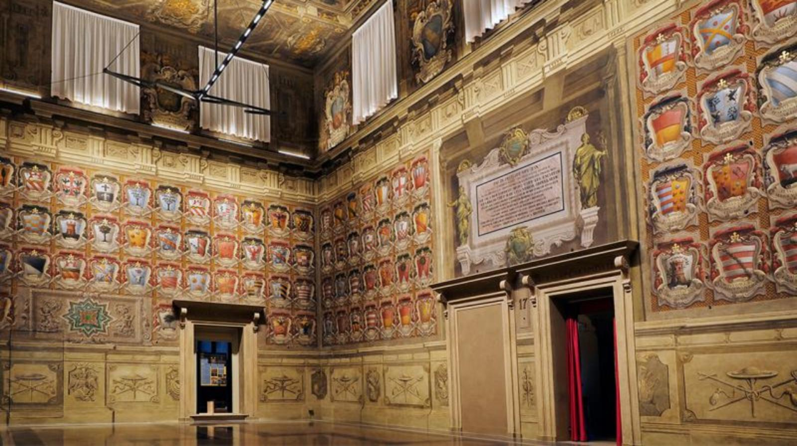 The Collezioni Comunali d'Arte of Bologna closed for work - The Sala Urbana