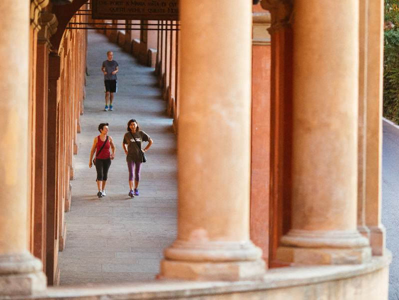 Porticoes of San Luca' Sanctuary, Bologna Welcome CC BY 4.0