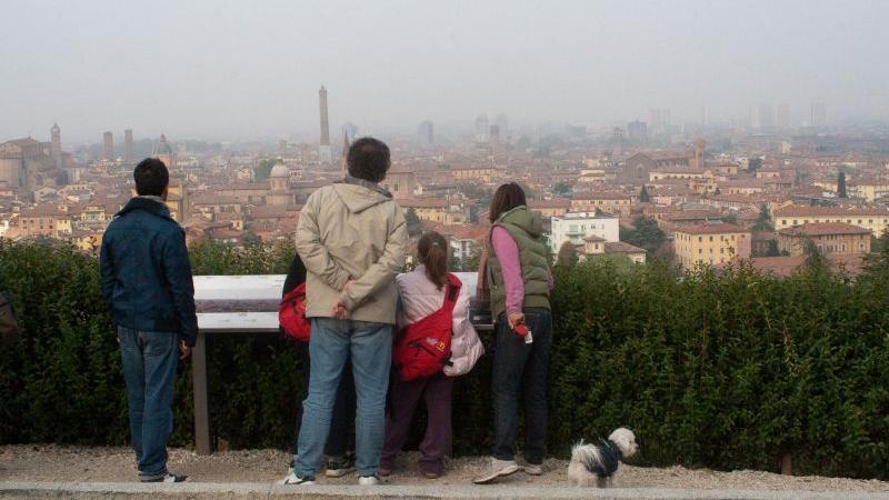 Itinerari e visite - Panorama da San Michele in Bosco