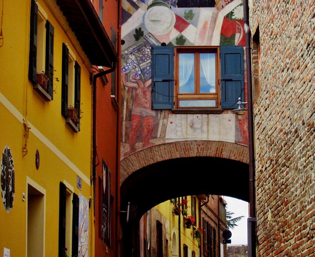 Biennale Muro dipinto a Dozza