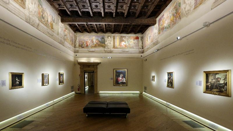 Sala Enea Palazzo Fava Foto di Paolo Righi-Meridiana